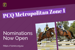PCQ Zone 1 Showjumping Nominations open